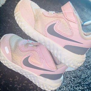 Toddler Girls Size 3 Pink Nikes